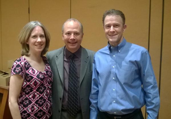 Karen, Robert Helms, and Scott at Real Estate Syndication Seminar