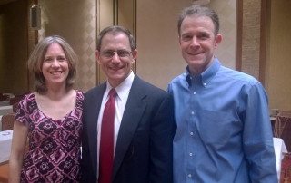 Karen, Russell Gray, and Scott at Real Estate Syndication Seminar