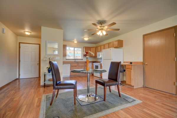 Seattle Washington area fix and flip rehab real estate investment investor opportunity dining room and kitchen