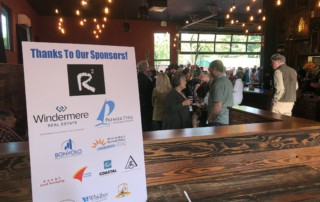 2019-06-22 Whidbey Camano Land Trust Conservation Partner event sponsor sign