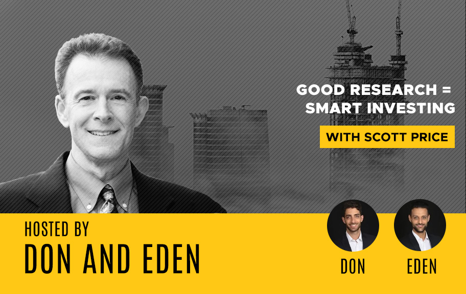 Scott Price guest on Commercial Real Estate Investing with Don and Eden podcast show